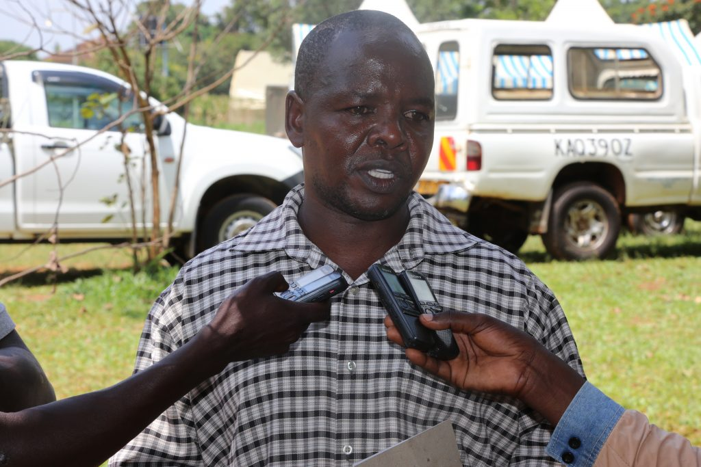 Antony Wahome, Chairman of Busia Agro Dealers Association