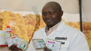 barnaba-rotich-the-commercial-and-operations-manager-dudutech-displays-the-products-launched-1024x683