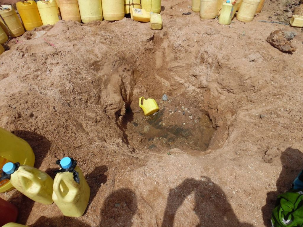 Dried up water well at Garbatulla in Isiolo