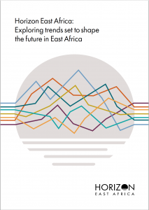 Cover page of Horizon East Africa report by Kenya Markets Trust, Msingi and Gatsby Africa
