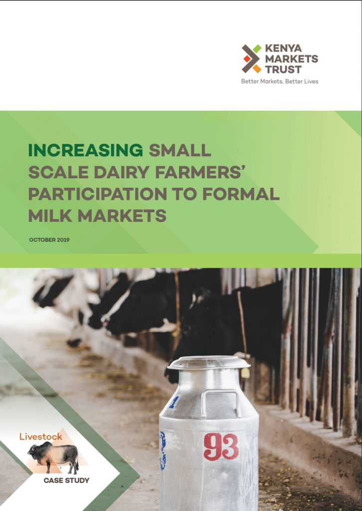 Increasing Small-Scale Dairy Farmers' Participation to Formal Milk Markets