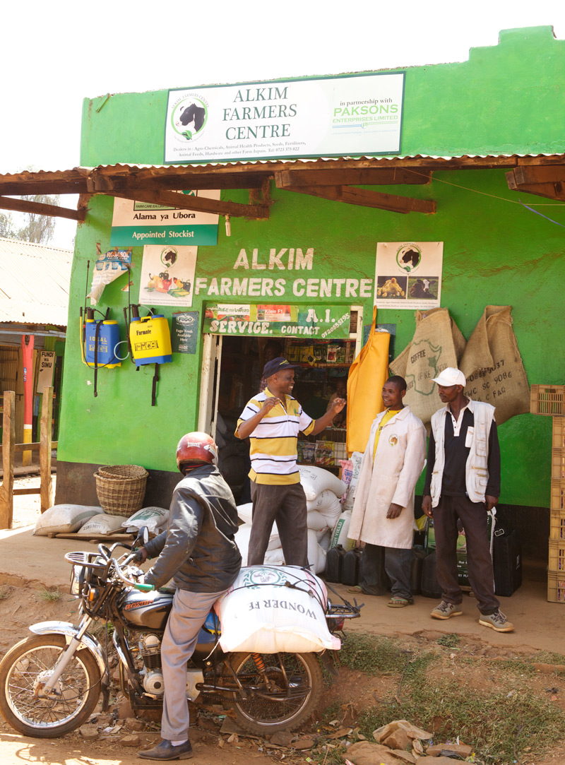 Enabling private sector adaptation to climate change among small businesses in developing countries: What role for multi-stakeholder partnerships? Experiences from Kenya